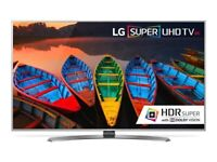 LG 49 Inch 4K Super Ultra HD HDR NanoCell Smart TV in Excellent Condition