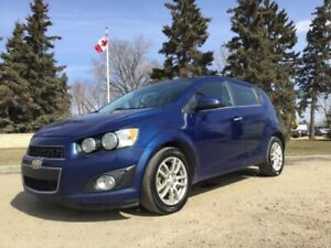 2013 Chevrolet Sonic, LT-PKG, AUTO, LOADED, ROOF!