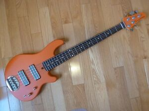 Modified Lakland 55-01 Skyline 5-String Bass Guitar