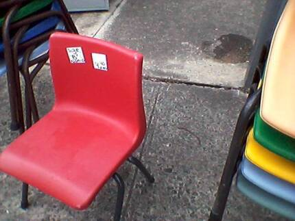 KINDY*PRESCHOOL STACKING CHAIR*NAMCO*STRONG*STACKABLE