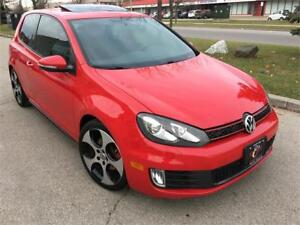 2010 VOLKSWAGEN GTI 6SPD 2DR SUNROOF BLUTOOTH NO ACCIDENT