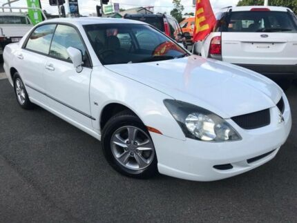 2003 Mitsubishi Magna TL LS White 4 Speed Sports Automatic Sedan Greenslopes Brisbane South West Preview