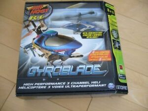 Gyroblade/Heli Cage Helicopters (AIR HOGS)
