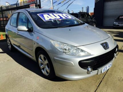 2006 Peugeot 307 MY06 Upgrade XSE 2.0 4 Speed Tiptronic Hatchback