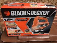 BLACK & DECKER Jigsaw - BRAND NEW - UNUSED