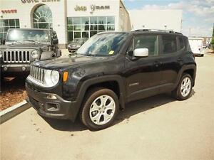 2015 Jeep Renegade Limited, MySky, New, Leather, Navigation