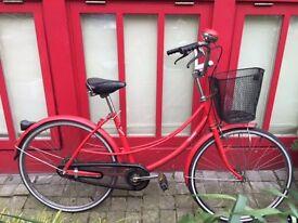 Vintage Ladies Bicycle in lovely Red