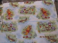 "Winnie the pooh bear ( original style )pair of curtains. Each curtain approx 60"" width x 69""drop"