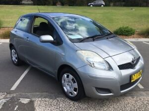 2008 Toyota Yaris NCP91R 08 Upgrade YRS Silver 5 Speed Manual Hatchback Lisarow Gosford Area Preview