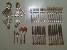 Vintage Set of Rodd Silver Plate Cutlery - Camille Design Chatswood Willoughby Area Preview