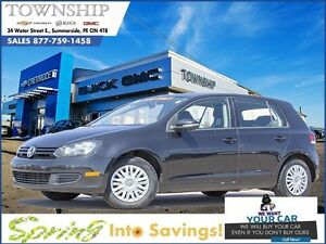 2010 Volkswagen Golf - $8/Day - 2.5 L - Hatchback