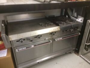 Garland Double oven gas Range