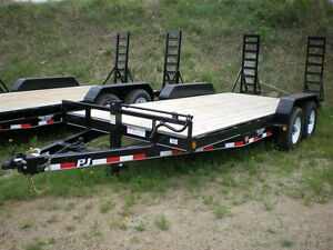 Automan Trailers Has Skid Steer and Car Hauler Trailers
