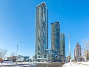 Bright, Spacious 1 Bed Condo Top Downtown Mississauga