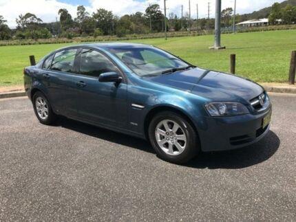 2010 Holden Commodore VE Omega Blue Sports Automatic Sedan
