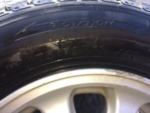 Good condition winter tires 175/70R13 on rims