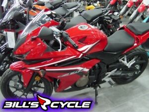 2016 HONDA On Road CBR 500 RASG   Abs Red