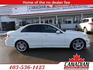 2011 Mercedes-Benz C-Class C350 4matic AWD LOW KMS LOADED