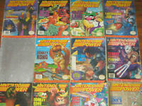 Nintendo Power Collection 300+/Rare/Old Skool Gamers