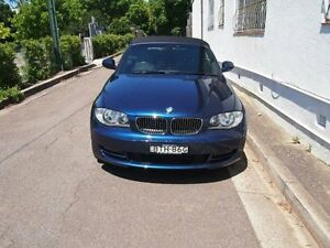 2010 BMW 125I E88 MY10 Deep Sea Blue 6 Speed Automatic Convertible Petersham Marrickville Area Preview