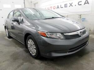 2012 Honda Civic LX AIR CLIMATISÉ BLUETOOTH CRUISE