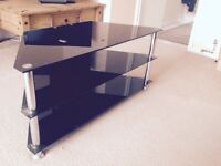 Glass TV stand for free!