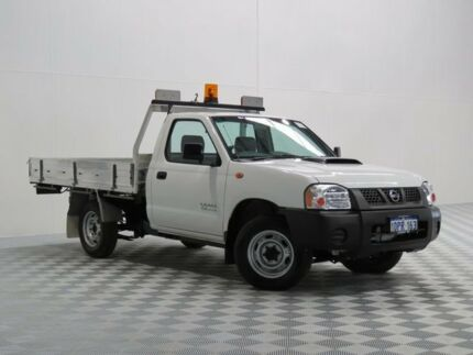 2011 Nissan Navara D22 Series 5 DX White 5 Speed Manual Cab Chassis Atwell Cockburn Area Preview