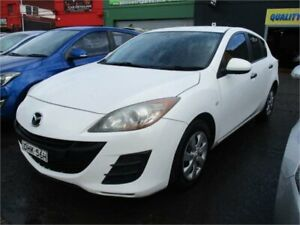 2010 Mazda 3 BL Neo White 5 Speed Automatic Hatchback Camden Camden Area Preview