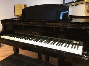 Magnifique piano à queue Wurlitzer