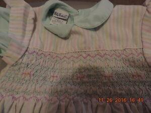 Girl's 6X Vintage Polly Flinders Dress & Smocked Pinafore London Ontario image 2