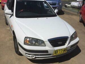 2005 Hyundai Elantra XD MY05 FX 2.0 HVT White 4 Speed Automatic Hatchback Wentworthville Parramatta Area Preview