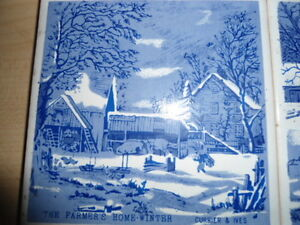 4 coasters/trivets - Currier and Ives designs Peterborough Peterborough Area image 5