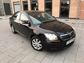 Toyota Avensis 2.0 D-4D T2,2007,ONE OWNER,FULL SERVICE HISTORY,HPI CLEAR,3 MONTHS WARRANTY