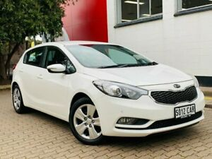 2015 Kia Cerato YD MY16 S White 6 Speed Sports Automatic Hatchback Medindie Walkerville Area Preview