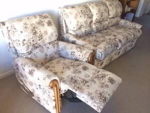 Lan Franco Devon | 3 seater | 1 recliner | Like-New | QUICK SALE! Seaford Morphett Vale Area Preview