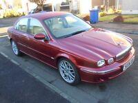 Jaguar x type 2.5 V6 . SE. Full electrics, Automatic , All wheel drive, touch screen controls . Mint