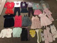 Girls Christmas Bundle 2-3 yrs (32 items) GAP, DKNY, Next, Junior J, Noa Noa, Miller, JoJo Maman