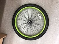 Found Bicycle Wheel