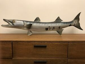 """Taxidermy 45"""" Barracuda Fish Mount"""