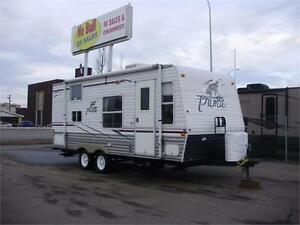 **$182/mo (oac)** CLEAN COUPLE'S TRAILER, SLEEP 6, REAR BATH!