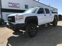 "2014 GMC Sierra 1500 Crew Cab Lifted 35"" wheels. $240. Bi Wkly! Red Deer Alberta Preview"