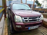 2005 Isuzu Rodeo for spares or repair as not running