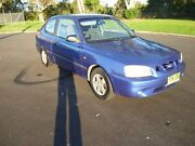 2000 Hyundai Accent Blue 5 Speed Manual Hatchback Ballina Ballina Area Preview