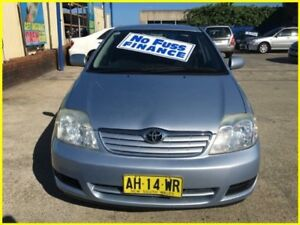 2005 Toyota Corolla ZZE122R 5Y Ascent Blue 4 Speed Automatic Sedan