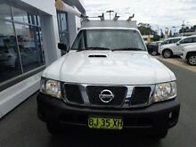 2011 Nissan Patrol GU MY08 DX (4x4) White 5 Speed Manual Cab Chassis Port Macquarie 2444 Port Macquarie City Preview