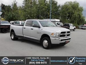 2016 DODGE RAM 3500 SLT CREW CAB LONG BOX DUALLY 4X4 DIESEL