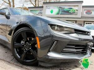 '17 Chevrolet Camaro LT 6-Speed+BOSE+Exhaust+Leather! $185/Pmts!