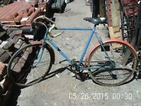 1970's Triumph Racing Bicycle / Push Bike with Wrights Saddle