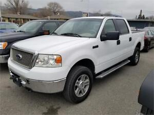 2006 F150 XLT SUPER CAB 4X4 5.5 BOX GREAT BODY, INTERIOR & TIRES