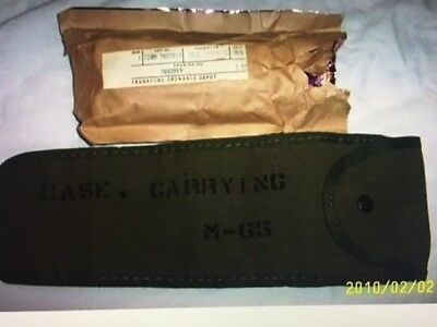 WWII UNISSUED 1903A4 MIC M1D SNIPER SCOPE CASE M65 for sale  Port Monmouth